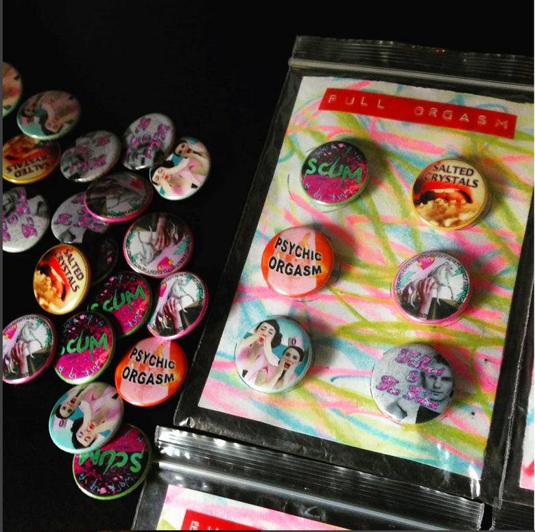 Image of Full Orgasm - Badge Set