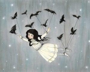 Image of Taken by Bats 14x11 print