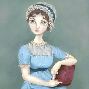 Image of Jane Austen 8x10 print