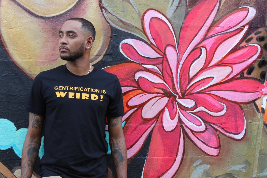 Image of 'Gentrification Is Weird!' T-Shirt