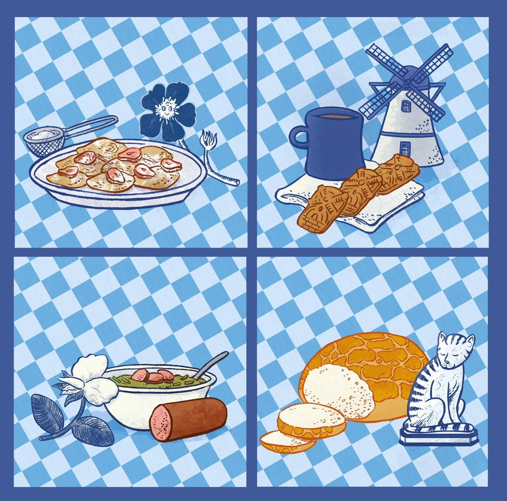 Image of Dutch Food Prints