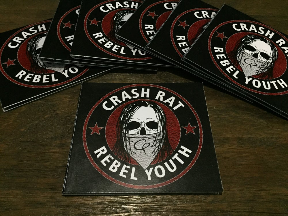 Image of Crash Rat - Rebel Youth CD