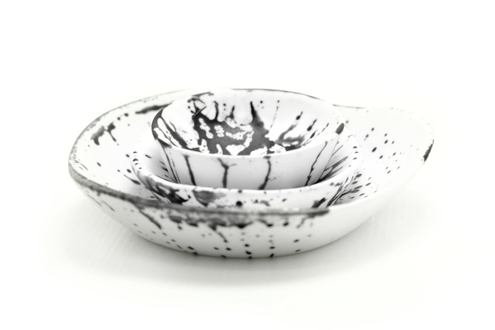 Image of Speckled bowl set