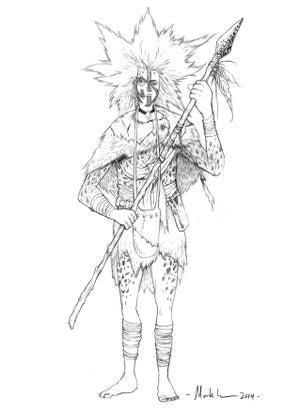 Image of Brownie - original pencilled artwork