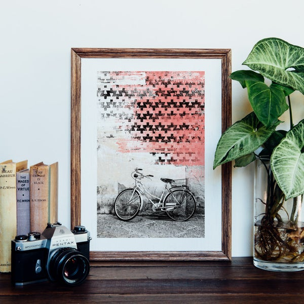 Image of Aquila Bike Giclee Art Print