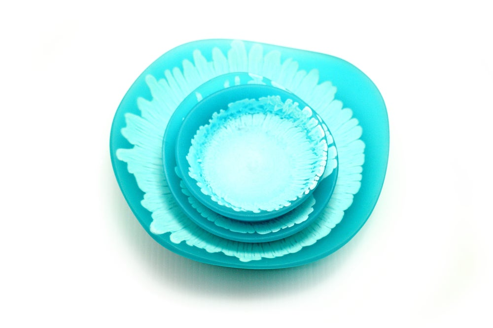 Image of Turquoise Bowl Set
