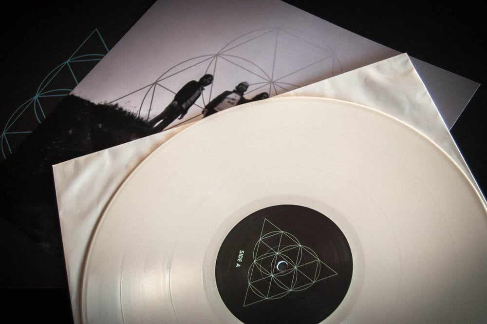 Image of PYRAMIDAL - Frozen Galaxies LP Repress (White Vinyl)