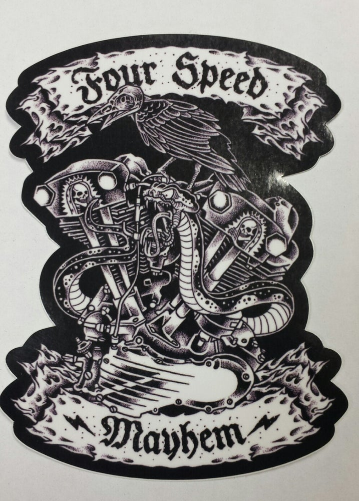Image of 4SM Knuckle Sticker