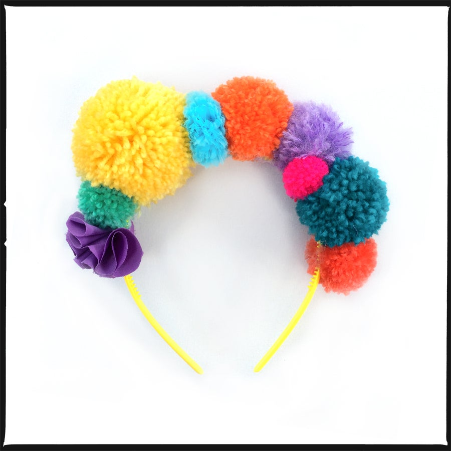 Image of READY TO SHIP<br>pom pom tiara