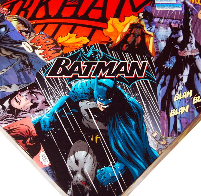 Image of Batman Comic Collage Table