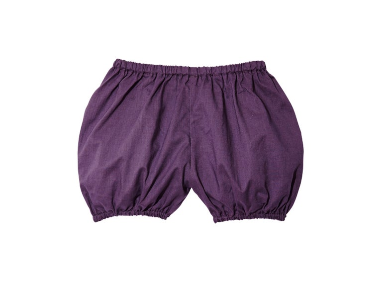 Image of PUFF SHORTS PLUM OR CHARCOAL OR PLAID