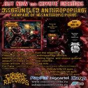 Image of DISGRUNTLED ANTROPOPHAGI Rampage Of Misanthropic Purge CD/TS PRE-ORDER !!!