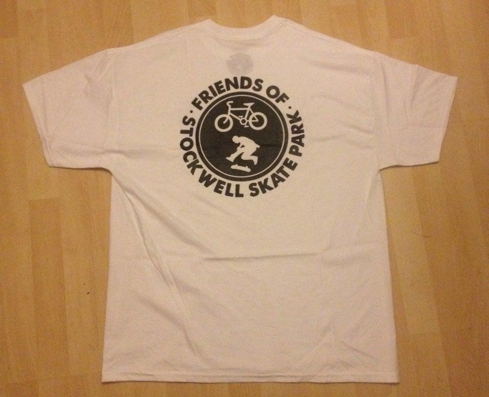 Image of FoSS - tshirt 2 (white/black)