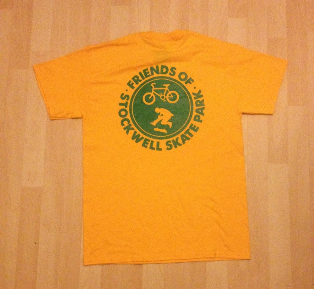 Image of Foss - tshirt 2 (yellow/green)