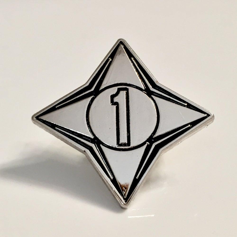 Image of Channel 1 enamel pin