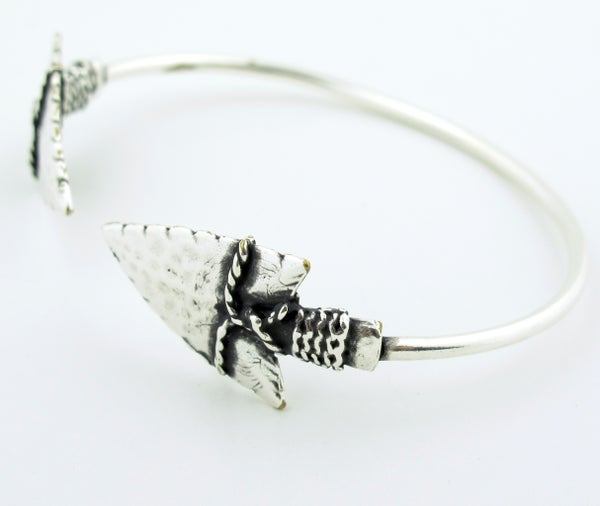 Image of Double Arrowhead Bracelet