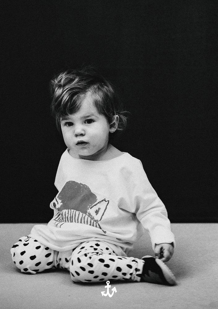 Image of AW15/16 <> Legging bébé garçon Noé & Zoë imprimé léopard