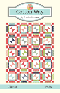 Image of Picnic PDF Pattern #986