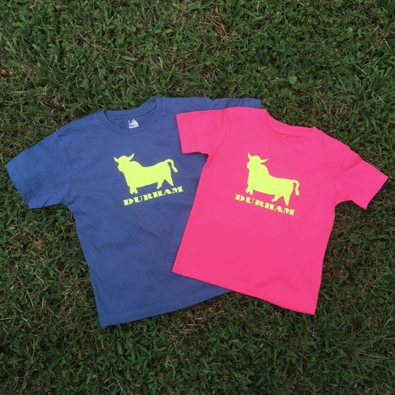 Image of Toddler/Kid Bull Icon tee