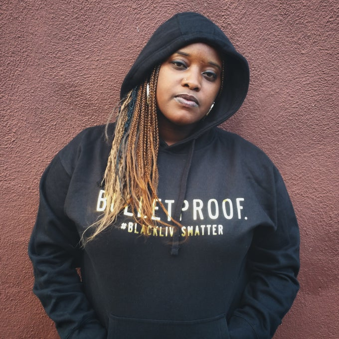 Image of #BlackLivesMatter BULLETPROOF.™ Hoodie