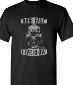 "Image of ""Ride Fast, Live Slow"" T-Shirt"