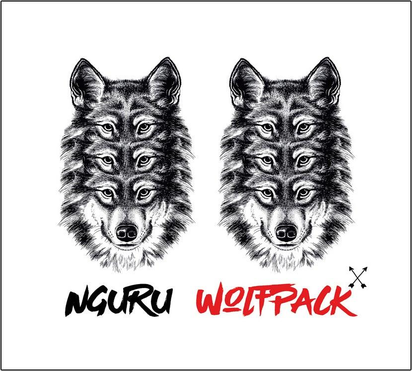 """Image of NGURU """"WOLFPACK"""" CD"""