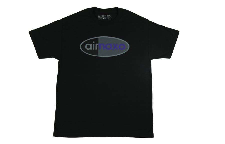 Image of Air Maxo Tee (Black/Purple)