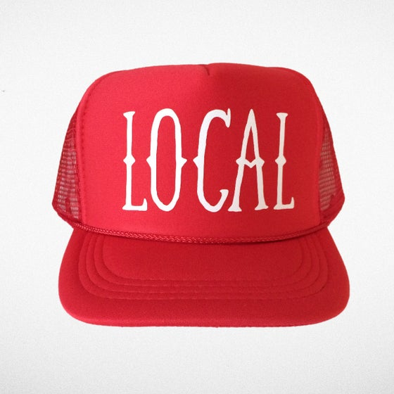 Image of Red Local Hat