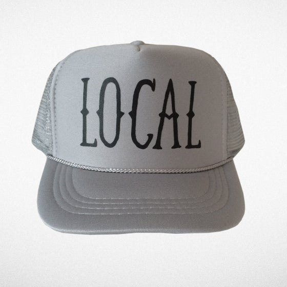 Image of Gray Local Trucker Hat