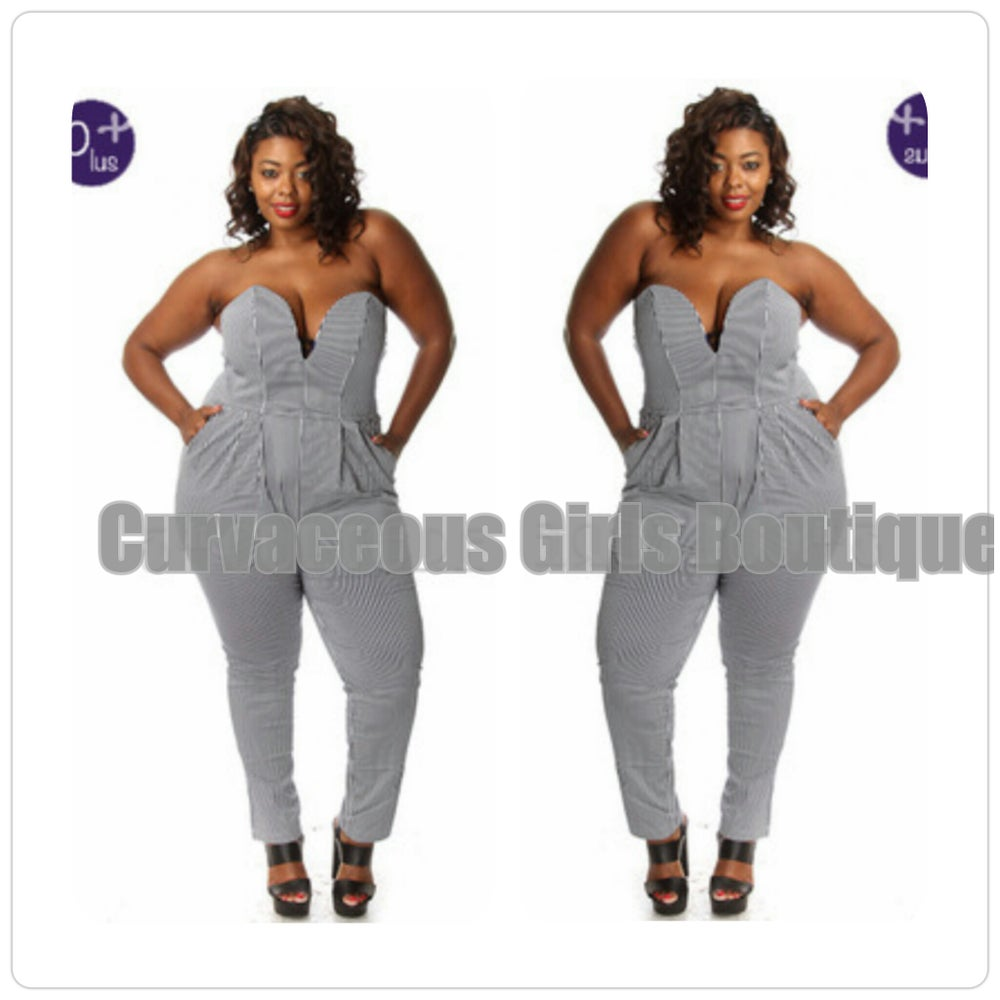 Image of Sweetheart jumpsuit