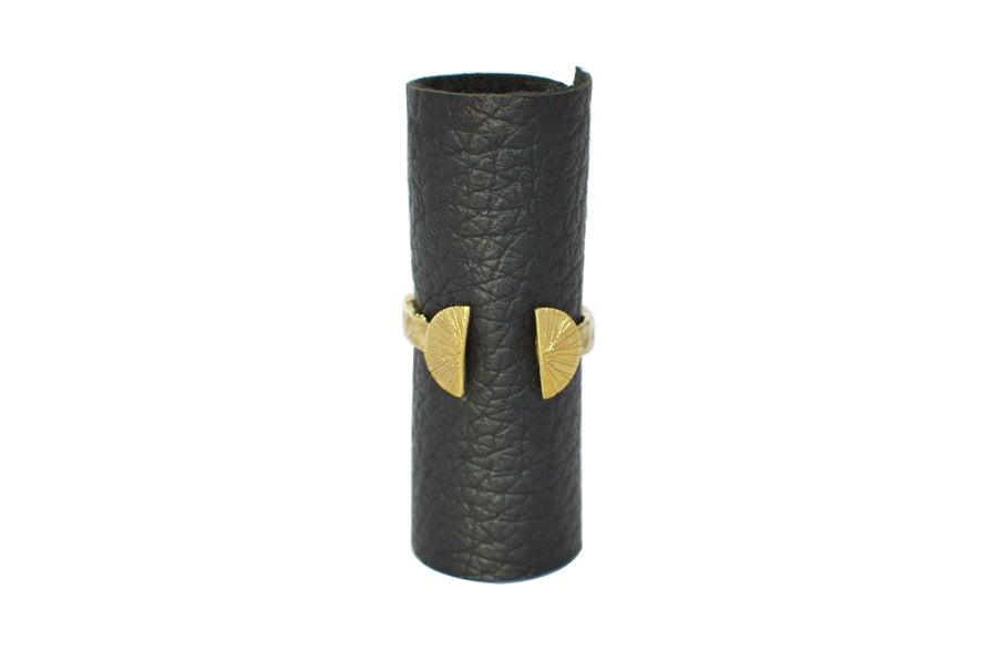 Image of Scutum Rings // Brass   NZ dlls