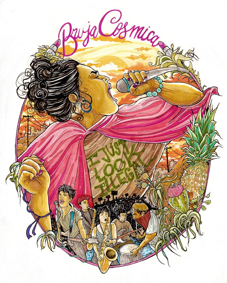 Image of BRUJA COSMICA: Victoria Ruiz and Downtown Boys