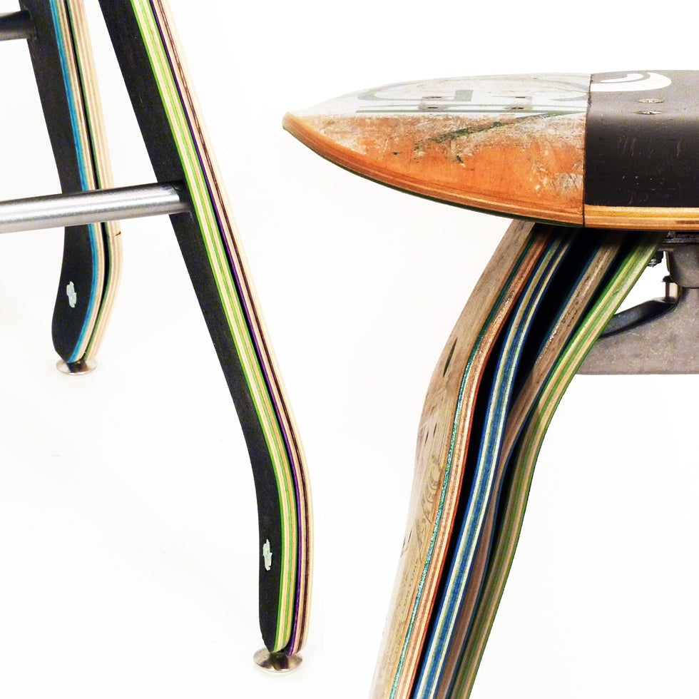 Recycled Skateboard Furniture And Gifts Recycled