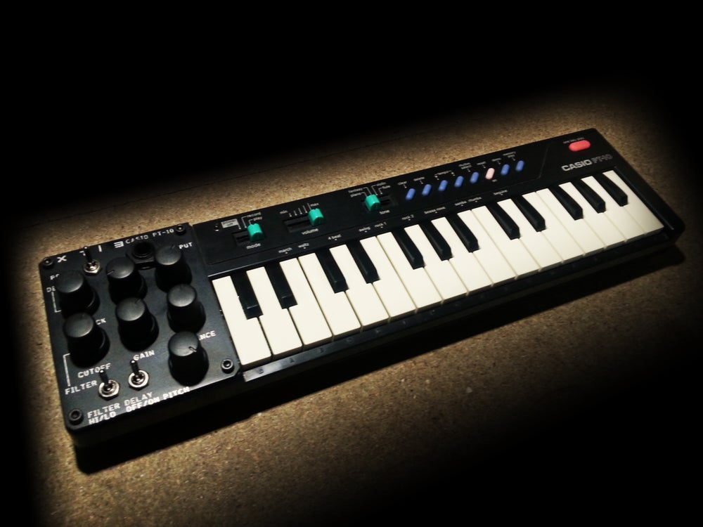 Image of MODIFIED / CIRCUIT BENT CASIO PT-10
