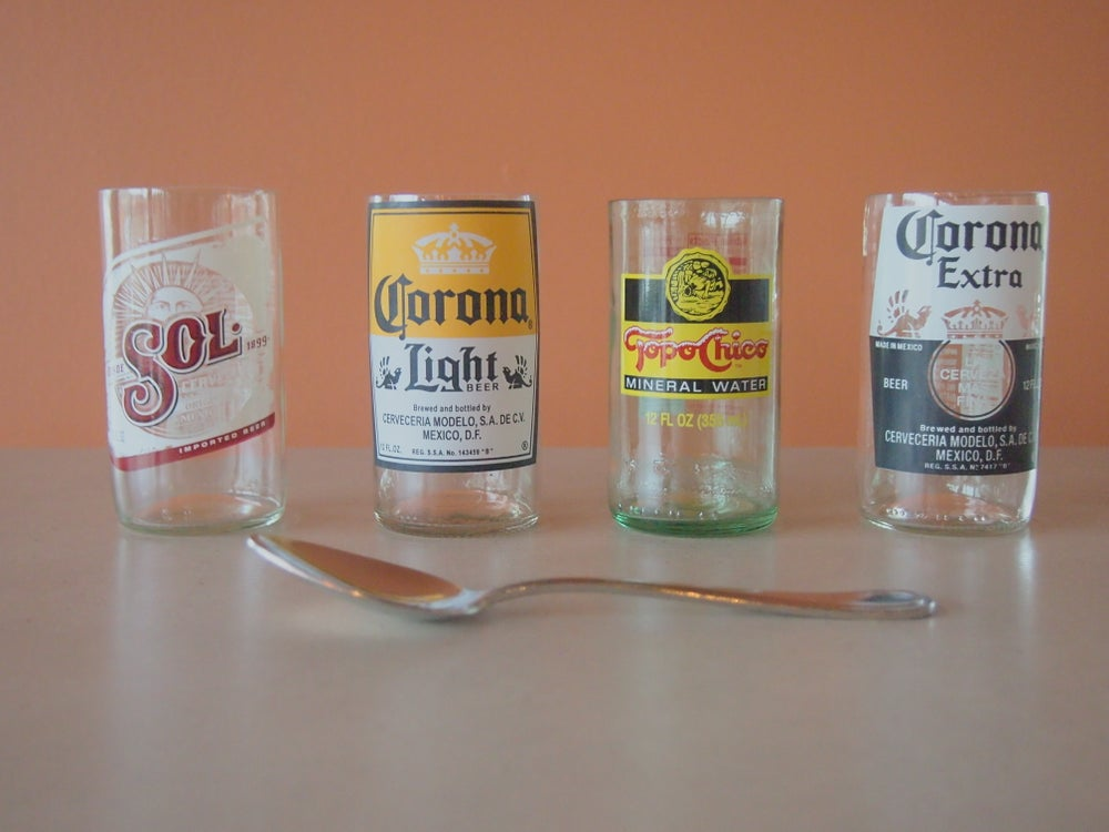 Image of Repurposed Glass Tumblers