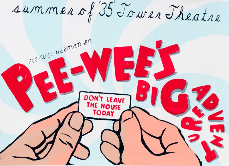 Image of Pee Wee's Big Adventure