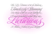 Image of Luxurious Script Debut Sale 25% OFF