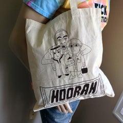 HOORAH Tote bag - Sick Animation Shop