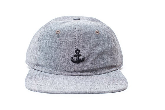 Image of Any Port 6 Panel Cap - Black