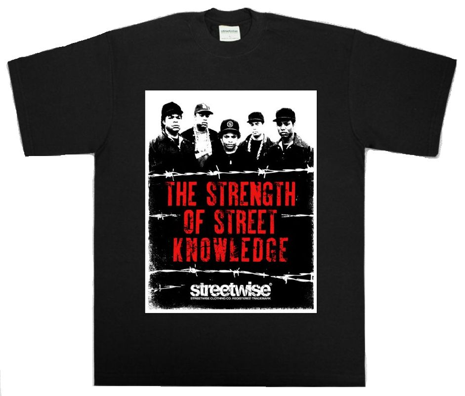 Image of StreetWise - The Strenght Of Street Knowledge Shirt