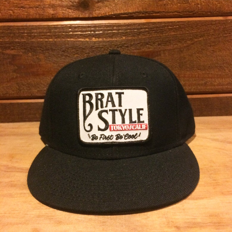 Image of BRAT STYLE wool snap back designed by SKETCH