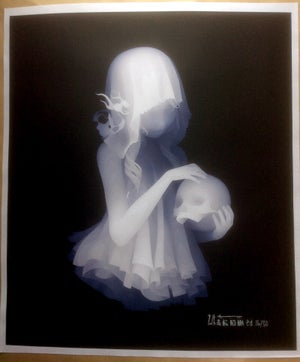 Image of The Memory Of a Girl Who Has A Skull Limited Edition Print by Kazuki Takamatsu