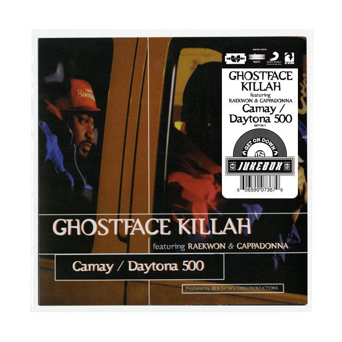 Image of GHOSTFACE KILLAH FEATURING RAEKWON AND CAPPADONNA B/W DAYTONA 500 (7 INCH)