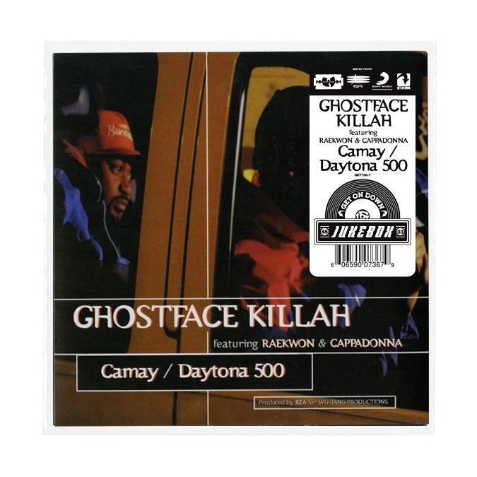Image of GHOSTFACE KILLA FEATURING RAEKWON AND CAPPADONNA B/W DAYTONA 500 (7 INCH)