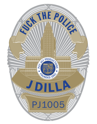 Image of J DILLA-FUCK THE POLICE