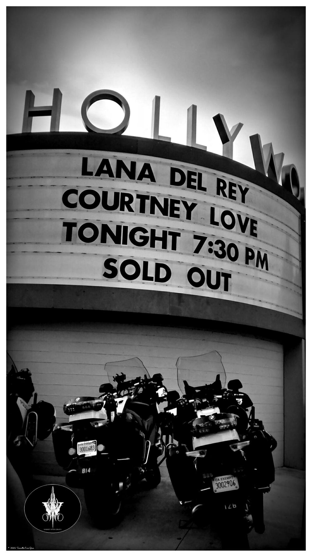 Image of 11x17 HOLLYWOOD BOWL-ENDLESS SUMMER TOUR