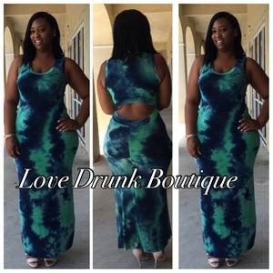 Image of Blue Lagoon Maxi Dress