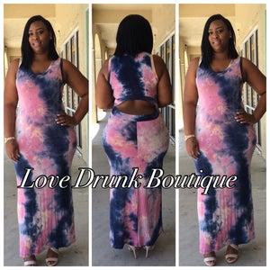 Image of Bubble Yum Maxi Dress
