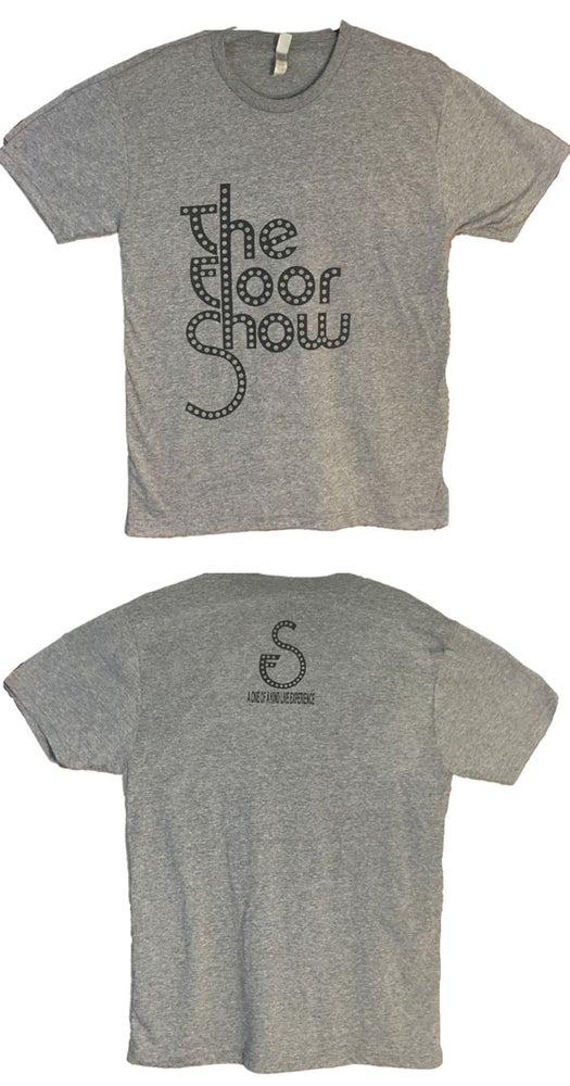 Image of Men's Tee - Light Grey/Black Logo