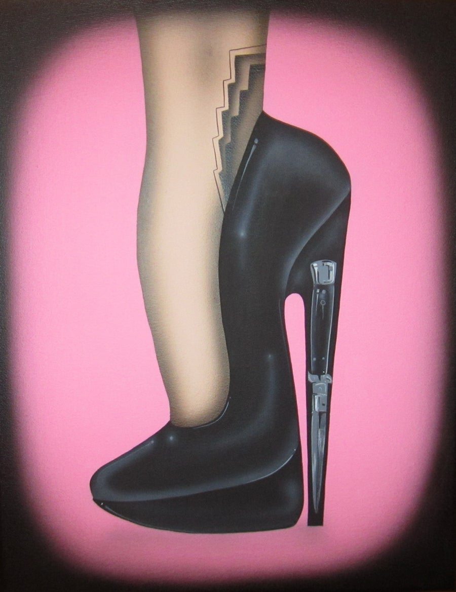 Image of High Heel Lust Print